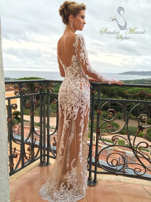 Très Sandra Maurel Styliste - Créatrice Robes de Mariées - Côte d'azur  LH24